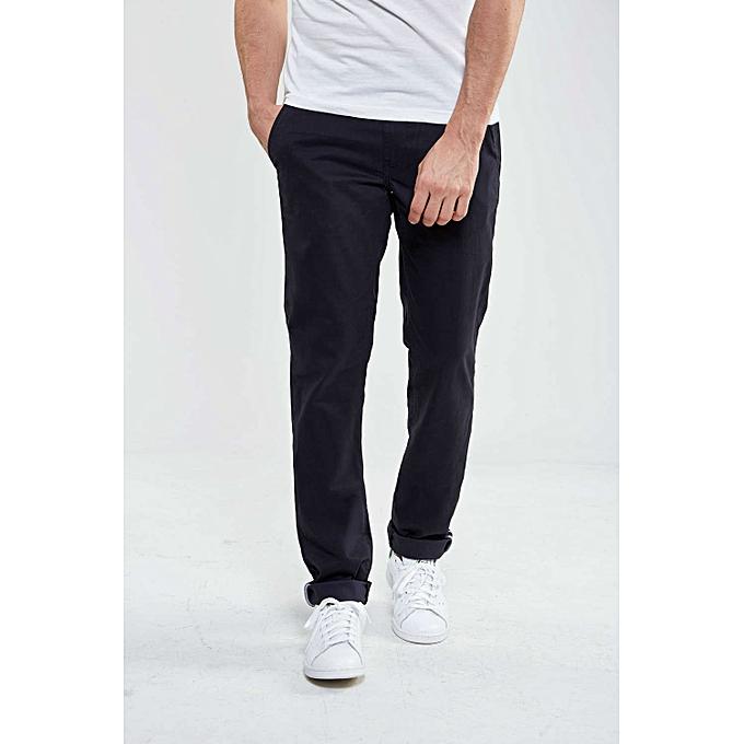 95fc6d143145 Abercrombie   Fitch Pantalon Homme - Chino - Luxe Confort Org - Noir ...