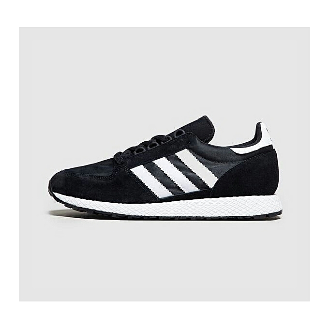 3af04b0a7be1c Adidas Baskets Homme - Forest Grove -Tennis Style - Blanc Noir ...