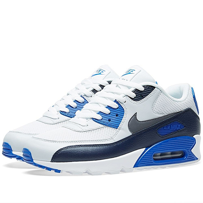 the latest 62d1a 2155a ... store baskets homme air max 90 essential bleu blanc 45811 82097