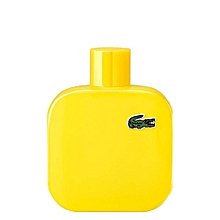 Eau De Lacoste Homme - L1212 - Jaune - Optimistic - 100Ml 289b65835cd5