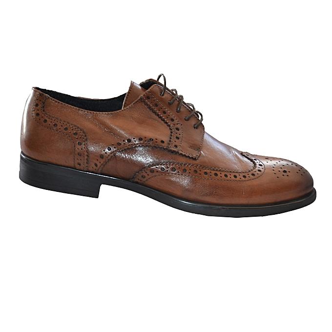 Marron Classique Sans Cuir Chaussure Marque Richelieu Homme P4AHYzq