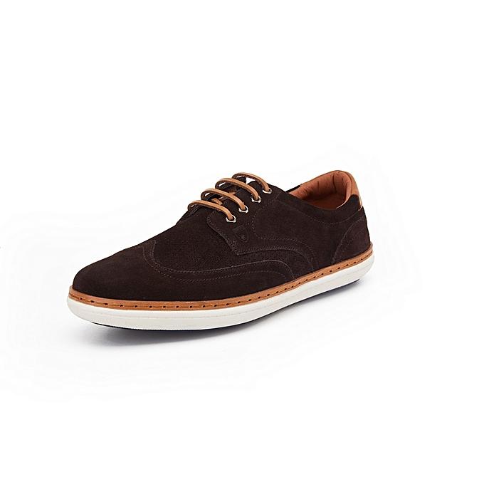 bdbf23666c13 Polo Club Chaussures Homme - Marron Foncé - Prix pas cher