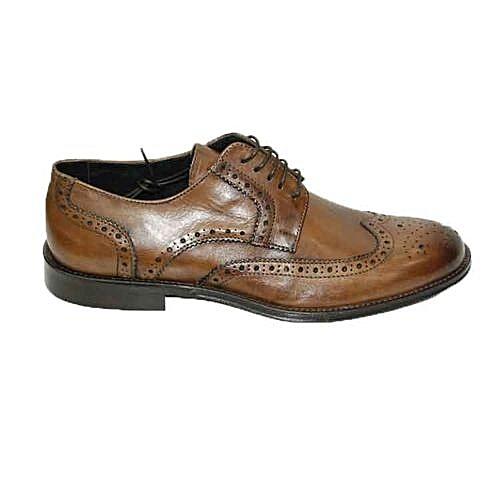 Sans Marque Chaussure Homme Classique Cuir - Marron Clair - Prix pas cher    Jumia DZ 45e11b12af8