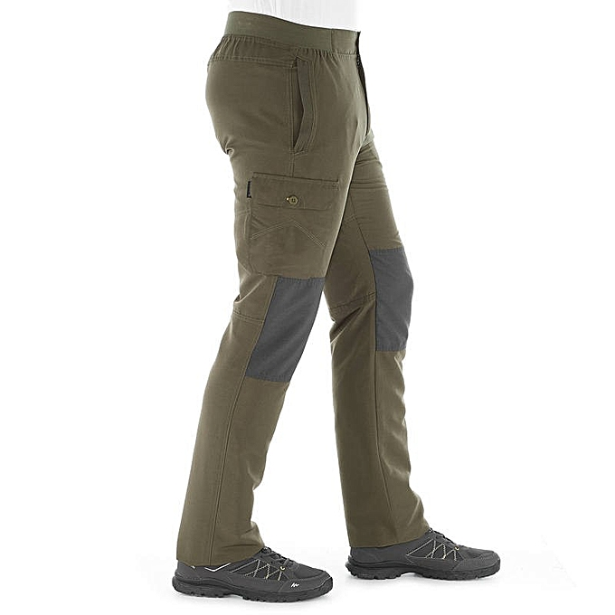 77e5009d8 Pantalon Homme Randonnée - NH100 - Vert Kaki
