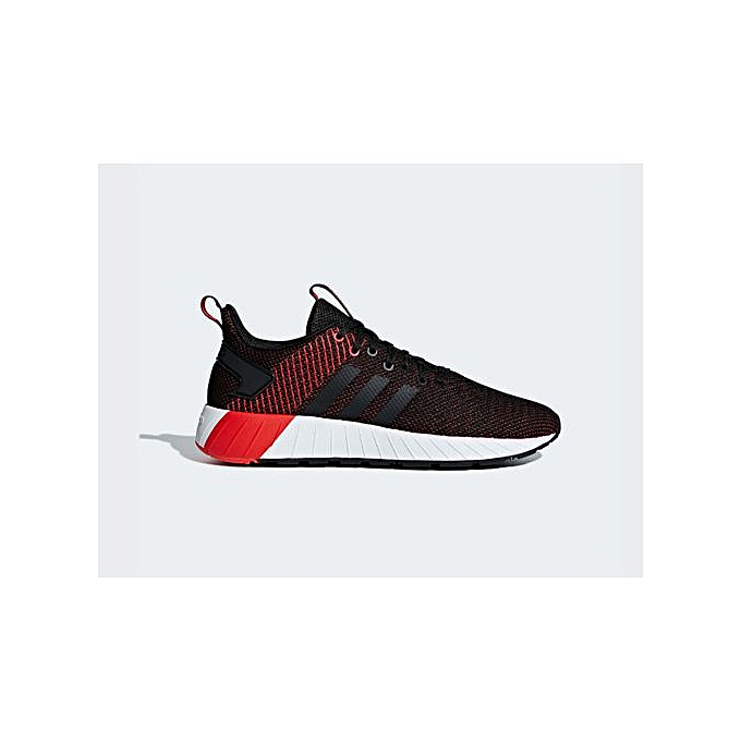 c77f288dd740 Adidas Baskets Homme - Questar Byd - Noir /Rouge - Prix pas cher ...