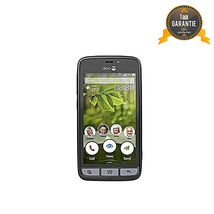 "Smartphone 8031 4.5"" - 8 Go - 1 Go - Noir/Champagne - Garantie 1 An"