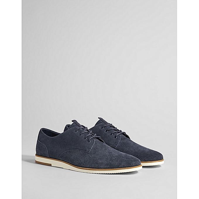 Chaussures Homme Cuir Bleu — Experience Conseil f7b83d5bc45a