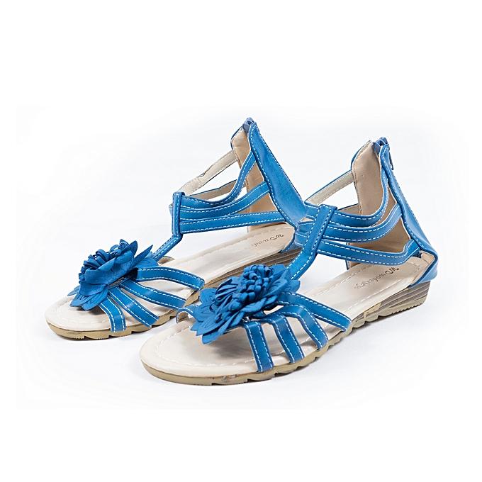 90c819dc2c926 Bleu cher à pas Algérie au Marque Femme Sandale Sans Jumia prix AwxztqB