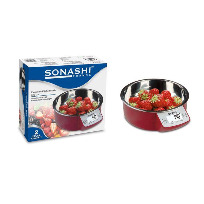 Balance de cuisine 5Kg Sonashi sks-006, imychic