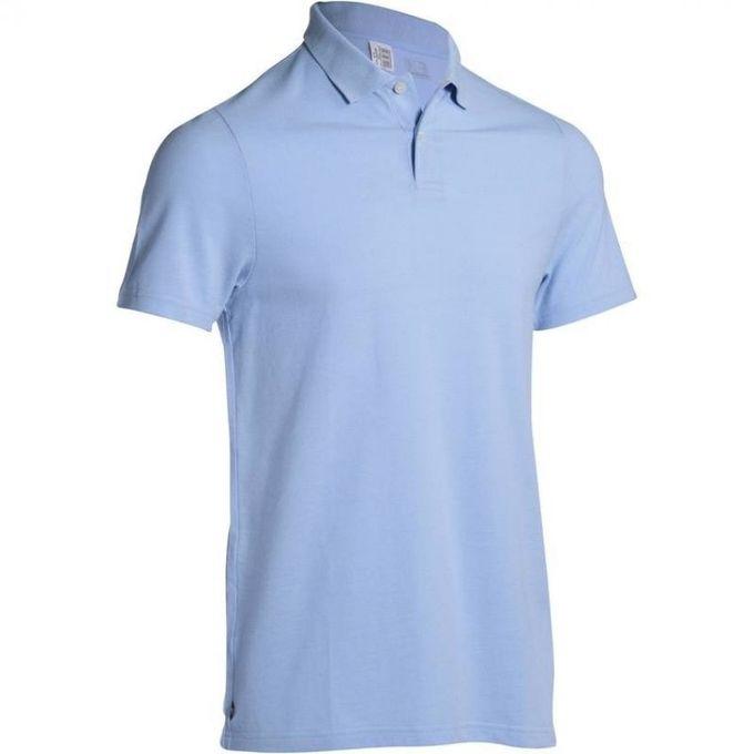 Decathlon Polo Homme - Bleu Lavande - Prix