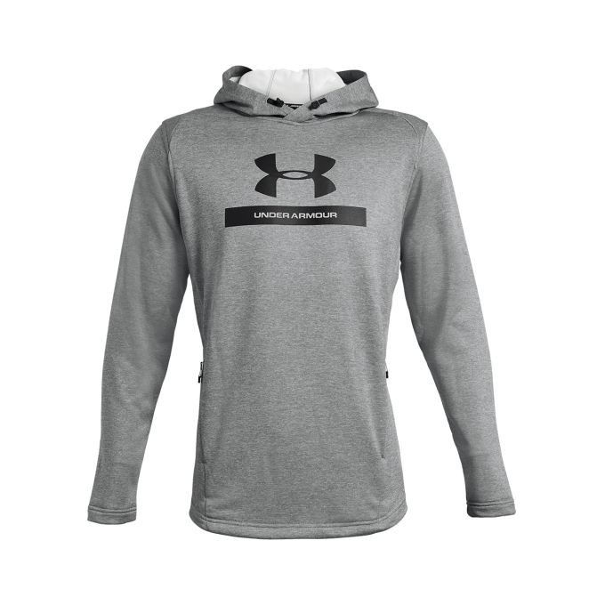 Sweat Homme UA MK1 Terry Graphic Hoodie Gris