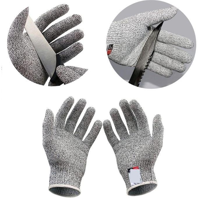 Generic Gant Cuisine Protection Contre Les Coupures Couteau Gris