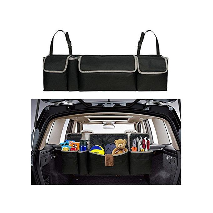 voiture Robasiom Organiseur de coffre de voiture pliable et r/églable pour si/ège arri/ère de voiture camion SUV v/éhicule /à domicile