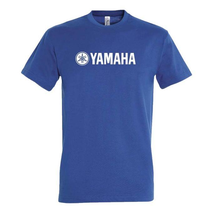 Bz T-Shirt Homme - Yamaha - Bleu