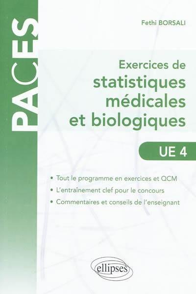 Exercices De Statistiques Médicales Et Biologiques : Ue4