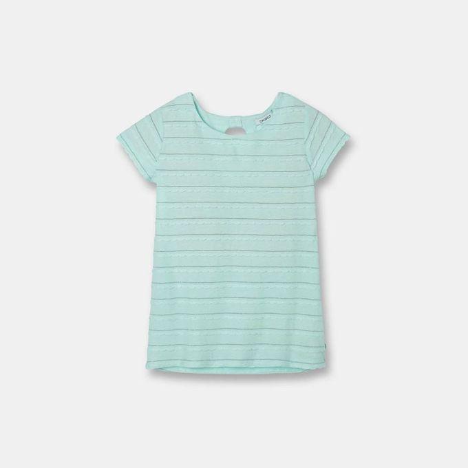 Okaidi T - Shirt Fantaisie Fille  -  87209  -  Vert