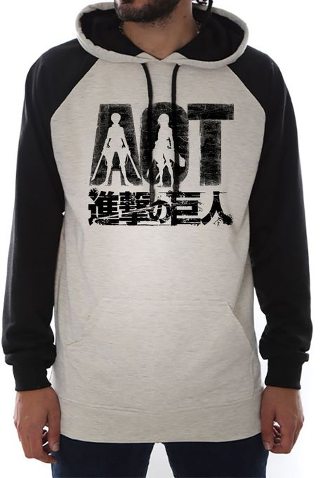 M&P Sweat Bicolor M&P Aot  Attack On Titan