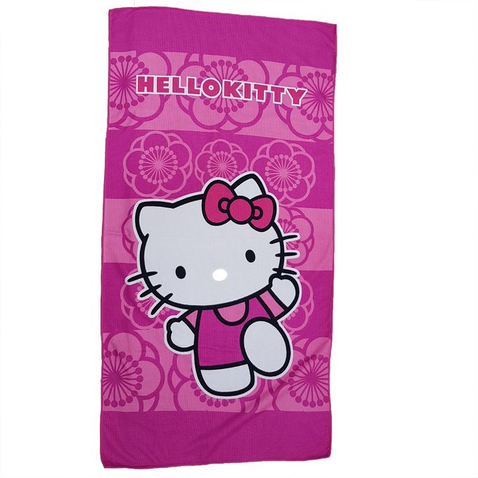 Hello Kitty Serviette De Plage - Hello kitty - Rose