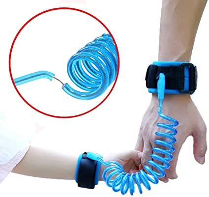 Bracelet Anti-Perte D'Enfant - Bleu