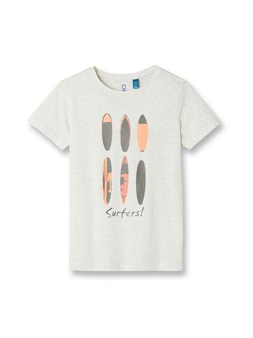 Okaidi T-shirt à motifs-830390809-Blanc