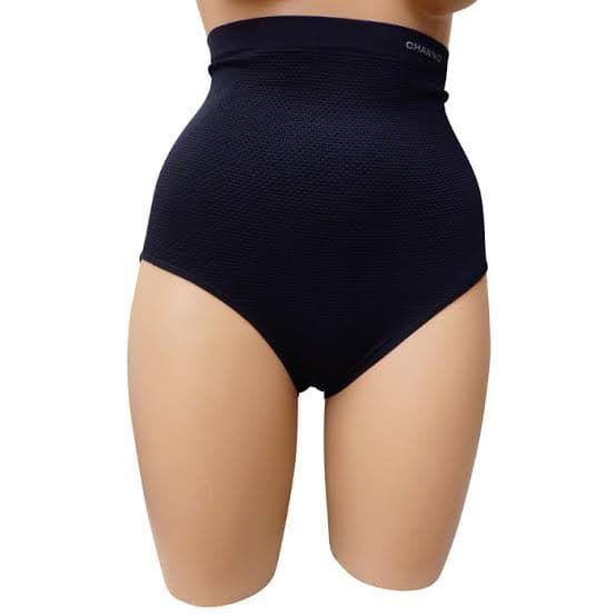 Gaine Amincissante Taille Haute - Grande Taille - Noir