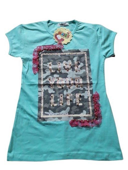 T-shirt Fille - Vert
