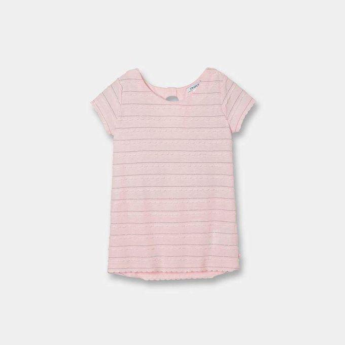 Okaidi T-shirt fantaisie fille-0087209-Rose