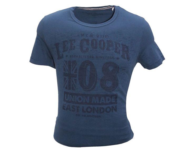 Lee Cooper T-Shirt Hommes - Bleu Foncé