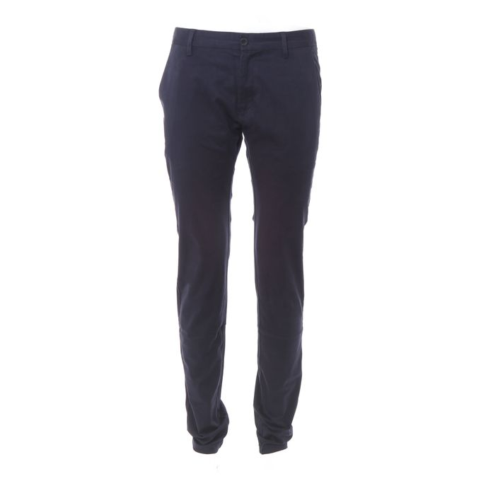 Polo Club Collection Pantalon Homme - En Toile -  Bleu Nuit