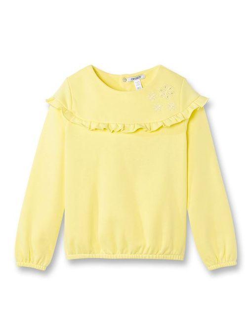 Okaidi Sweat-Shirt Fille-0085873-300-Jaune