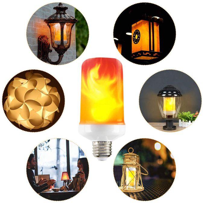 Ampoule LED Magique - Flamme Vacillante - Fire lamp