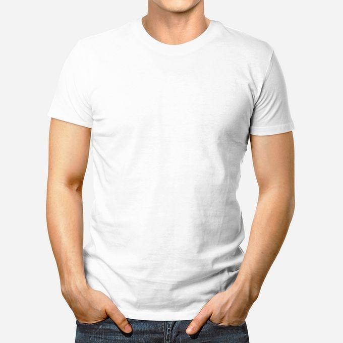 Sol Sana T-Shirt Homme - Manches Courtes - Blanc