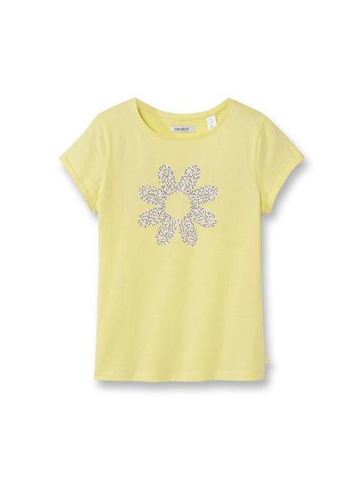 Okaidi T-shirt fantaisie fille-0085788-300-Jaune