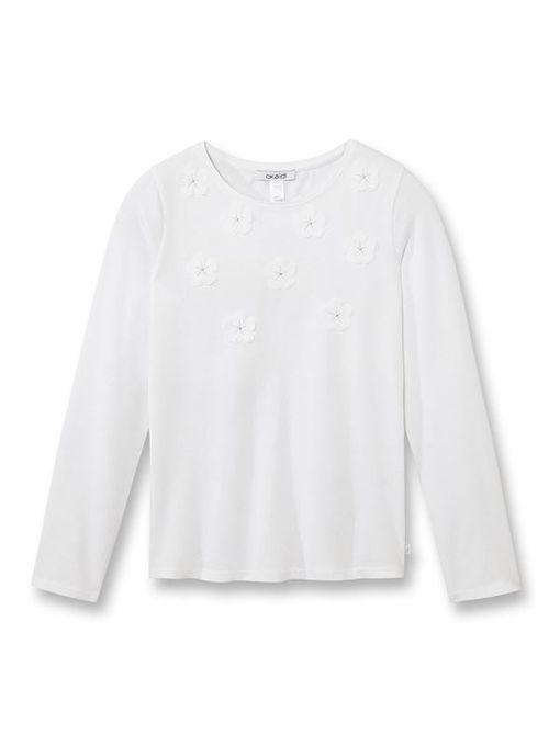 Okaidi T-Shirt Fantaisie Fille - 0085910 - Blanc