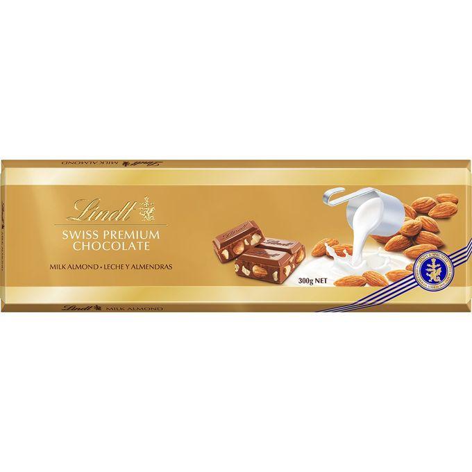 Lindt Swiss Premium Lait-Amandes 300 g