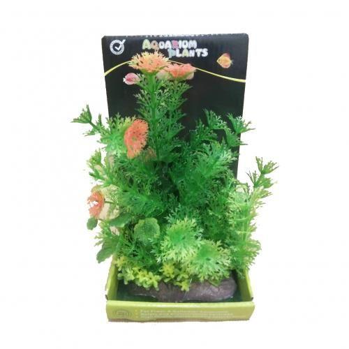 Plante Artificielle Décoration Pour Aquarium - Vert