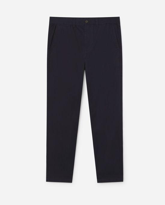 Y.two Jeans Pantalon Slim fit en Toile - Bleu Marine