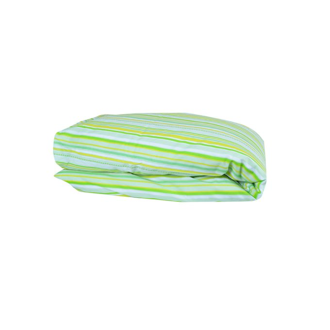 Linex Pack -Housse de Couette 140x200 +1 Taie d'oreiller  63x63- 1Place -Lumiere Du Matin-Vert