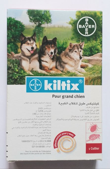 Bayer Collier Antiparasitaire Pour Grand Chien