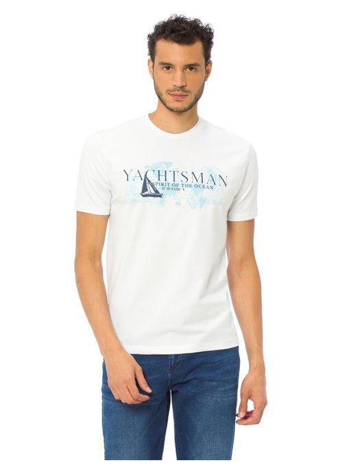 Lc Waikiki T-shirt Homme Yachtsman 8W2627Z8 - Blanc