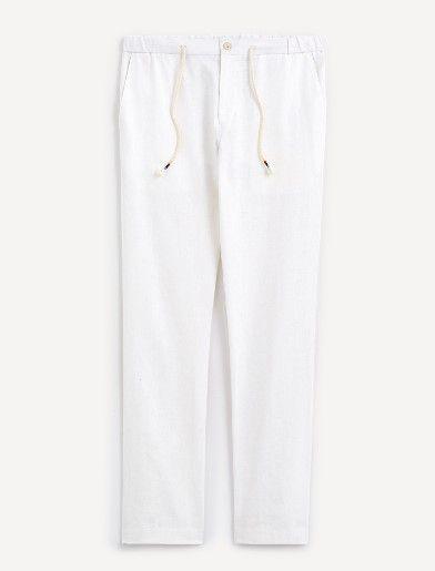 Celio Pantalon - NOLINT - White