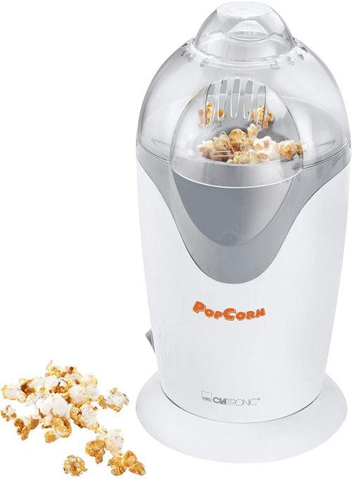 Clatronic Machine À  Pop Corn À Air Chaud - Pm 3635 - 1200 W- Blanc