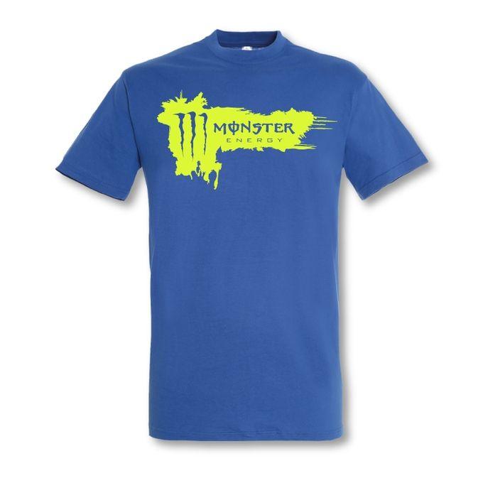 T-Shirt Homme - Monster Energy - Bleu