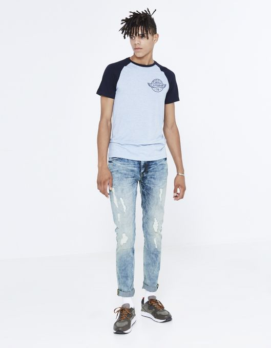 Celio Jeans  -  JONAS  - Délavé