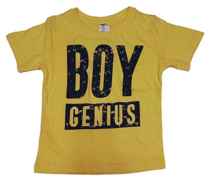 Fashion T-Shirt Garçon - Jaune