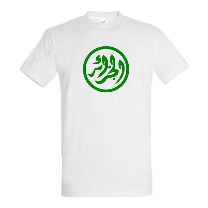 Sol's T-Shirt Homme - Algerie 80' - Blanc