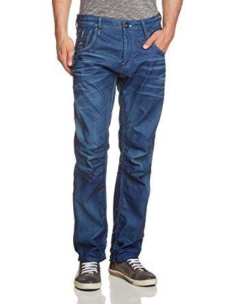 Jack and Jones Jeans Homme Boxy Powel Slim Fit - Bleu