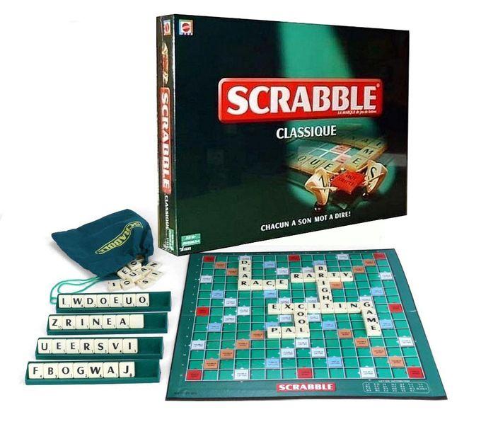 SCRABBLE & MONOPOLY Scrabble Un Jeux De Société - Vert