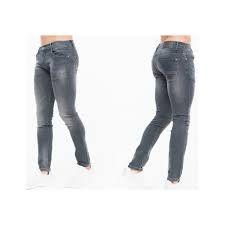 Cross Hatch Jeans Pour Homme Slim Fit Gris (CH2B113187GRY).