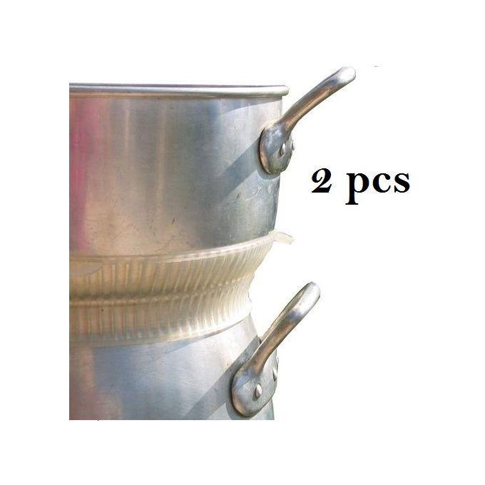 Pack 2 Joint En Silicone  Adaptable À Tous Les Couscoussiers -Transparent
